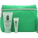 Clinique kosmeetikakott roheline