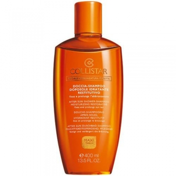 Collistar After Sun Shower-Shampoo Moisturizing Restorative 400ml (päevitusjärgne dušigeel-šampoon)