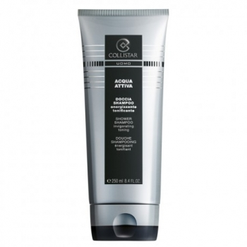 Collistar Acqua Attiva Shower Shampoo 250ml (ergutav dušigeel ja šampoon ühes meestele)