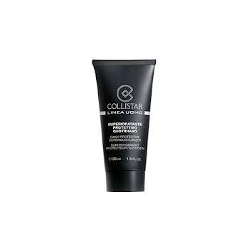 Collistar Daily Protective Supermoisturizer 50ml (niisutav ja kaitsev näokreem meestele) + Sensitive Skin After-Shave 15ml