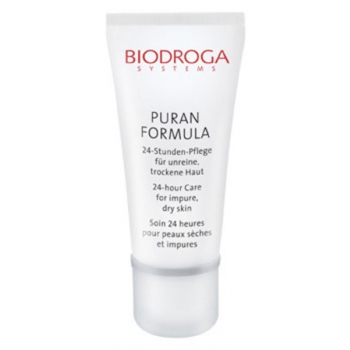 Biodroga Puran Formula 24-Hour Care 40ml (Hoolduskreem ebapuhtale kuivale nahale)