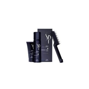 Wella SP Men Gradual Tone vaht+šampoon+kamm ( juuksevärvi aktiveeriva pigmentidega vaht, must)