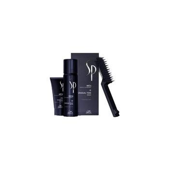 Wella SP Men Gradual Tone vaht+šampoon+kamm ( juuksevärvi aktiveeriva pigmentidega vaht, pruun)