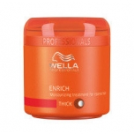 Wella Professionals Enrich Moisturising Treatment Mask 150ml (juuksemask norm ja õhukestele juustele)