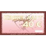 Kinkekaart 40 EUR