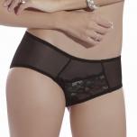 Pitsist õhulised aluspüksid (Mustad, S)