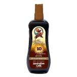 Australian Gold SPF10 Spray Gel with Instant Bronzer 237ml (pihustatav päikesekaitsegeel pruunistajaga)