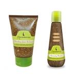 Macadamia Nourishing Leave In Cream 60ml+Macadamia Rejuvenating Shampoo 60ml