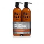 Tigi Bed Head Colour Goddess Oil Infused kmpl 750ml+750ml ( šampoon ja palsam, värvitud juustele)